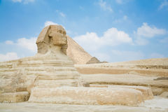Great Sphinx of Giza in Egypt Stock Photos