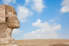 The Great Sphinx in Giza Stock Photos