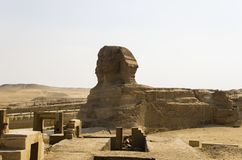 The Great Sphinx in Giza Royalty Free Stock Images
