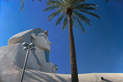 Great Sphinx of Giza at the Luxor hotel Royalty Free Stock Photography