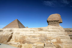 The Great Sphinx of Giza near Cairo, Egypt. Part 3 Royalty Free Stock Images