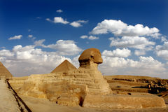 Great Sphinx of giza Stock Image