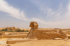 Great Sphinx at Giza. View on Great Sphinx at Giza Stock Images