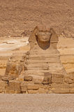 Great Sphinx at Giza. View on Great Sphinx at Giza, Egypt Royalty Free Stock Photography