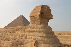 Great Sphinx of Gizah in Cairo, Egypt Stock Photography