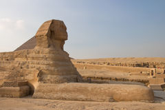 Great Sphinx of Gizah in Cairo, Egypt Royalty Free Stock Photos