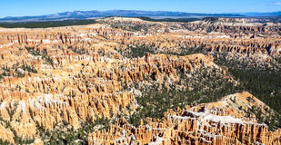 Great spires carved away by erosion Royalty Free Stock Image