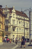 The Great Square, Sibiu, Romania Royalty Free Stock Photos