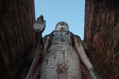 The great standing buddha Stock Photography