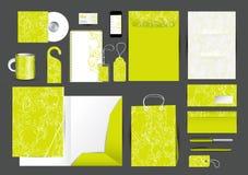 Great stationery design set Stock Image