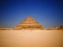 Great step pyramid of Djoser Stock Photography