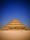 Great step pyramid of Djoser royalty free stock photography
