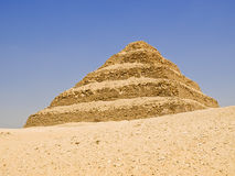 Great step pyramid of Djoser Royalty Free Stock Images