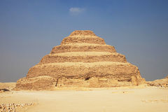 Great Stepped Pyramid royalty free stock image