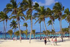 Great Stirrup Cay, Bahamas Stock Photography