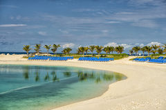 Great Stirrup Cay beach Stock Photography