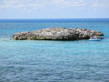 Great Stirrup Cay. In 2014, for Parahoy!'s cruse Royalty Free Stock Images
