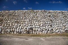 Great stones wall Royalty Free Stock Photo