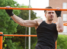Great street workout. Stock Photography
