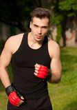 Great street workout. Royalty Free Stock Photos