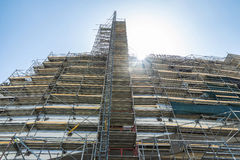 Great structure of scaffolding Stock Photos