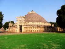 Great stupa of sanchi India, Buddhist monuments world heritage Stock Photo