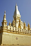 Great Stupa in Vientiane Laos Royalty Free Stock Images