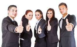 Great success in our young world Stock Images