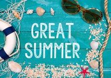 Great Summer Stock Photo