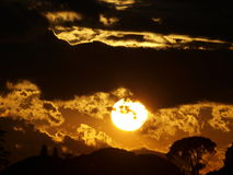 Great sunset Royalty Free Stock Photos