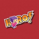 Great superhero mom Royalty Free Stock Photo