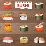Great sushi set Royalty Free Stock Photo