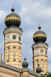 Great Synagogue Budapest royalty free stock photos