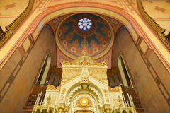 Great Synagogue in Budapest, Hungary Royalty Free Stock Images