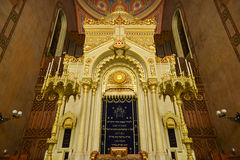 Great Synagogue in Budapest, Hungary Stock Images