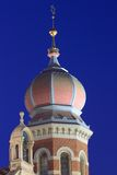 Great synagogue detail in Pilsen Royalty Free Stock Photos