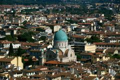 Great Synagogue of Florence Royalty Free Stock Image