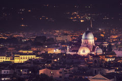 Great Synagogue of Florence Royalty Free Stock Photography