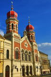 Great Synagogue , od architecture, Pilsen, Czech Republic Stock Photos