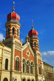 Great Synagogue , od architecture, Pilsen, Czech Republic Stock Images