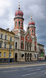 Great Synagogue of Plzen Royalty Free Stock Photo