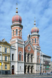 Great Synagogue in Plzen Royalty Free Stock Image