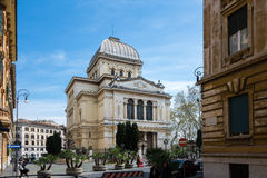 Great Synagogue of Rome Stock Images