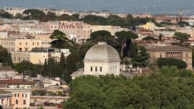 The Great Synagogue of Rome stock video