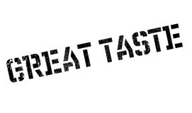 Great Taste rubber stamp Royalty Free Stock Images