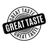Great Taste rubber stamp Stock Photography