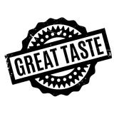 Great Taste rubber stamp Royalty Free Stock Photos