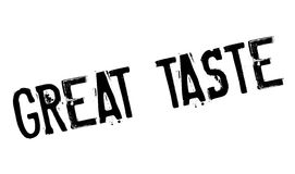 Great Taste rubber stamp Royalty Free Stock Image