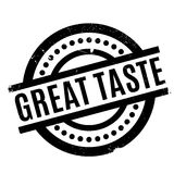 Great Taste rubber stamp Royalty Free Stock Photography