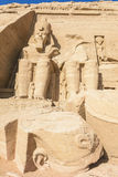 The Great Temple of Abu Simbel (Egypt) Stock Photography